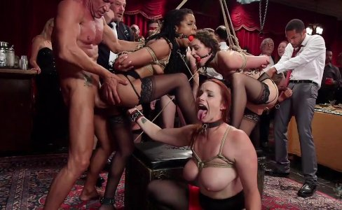 Like No Other Slave Orgy|64,881 views