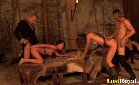 Incredible foursome lovemaking with hot Terenka|1,085 views