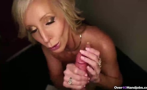 Horny step-mom POV handjob|25,017 views