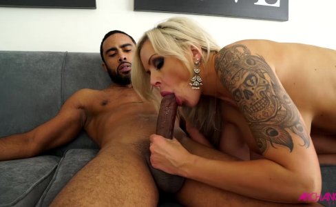 Nina Elle slammed full of big black cock|27,217 views