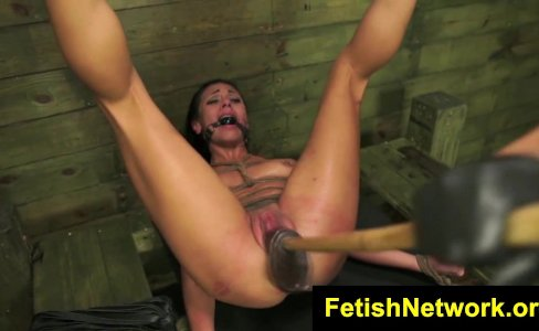 FetishNetwork Isa Mendez punished hard|27,618 views