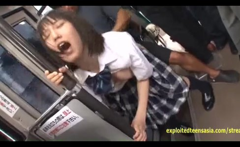 Jav Student Ambushed On A Bus Fucked Hard|73,857 views
