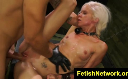 FetishNetwork Halle Von Sybian Dungeon|704 views