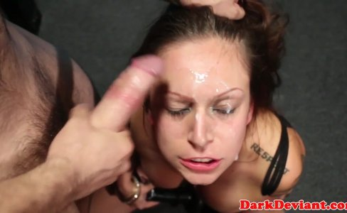 Busty chokeplay cumslut roughly disciplined|297 views