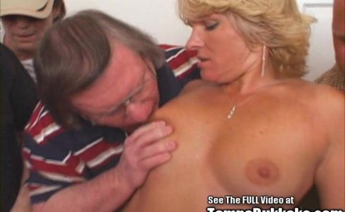 Anal Fuck Slut Wife Blonde 3 Hole Gangbang|19,681 views