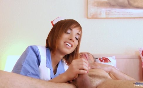 Step dad gets fucking treatment horny nurse|72,681 views