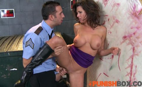 Punishbox - Pornstar gets punished by police|69,832 views