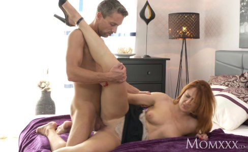MOM Russian redhead craves a deep fuck|101,302 views
