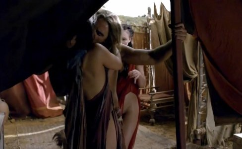 Ellen Hollman Group Sex In Spartacus Series|2,543 views