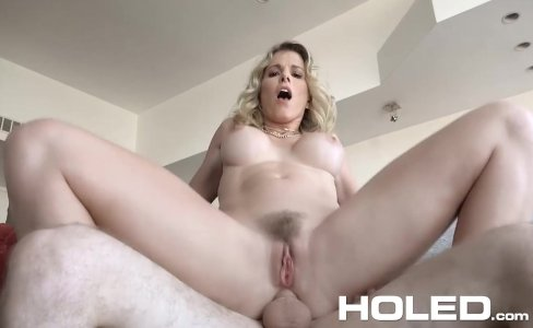 HOLED - Virgin boy anal fucks busty stepmom Cory Chase|349,867 views