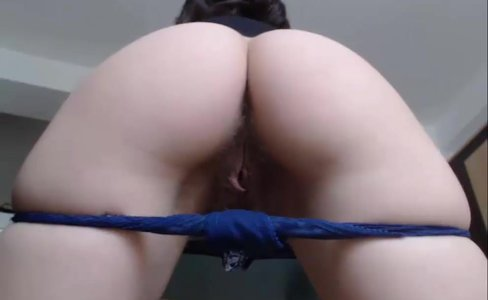 Brunette With Hairy Pussy Teasing On WebCam|248 views
