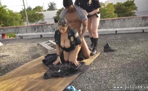Little blonde girl fucked by black gang|895 views
