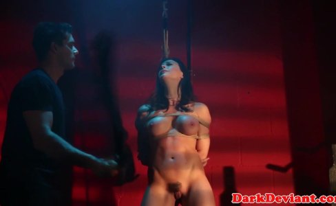 Flogged Chanel Preston banged while tiedup|25,353 views