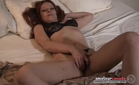 Hairy pussy wife fingers wet pussy with black panties on at motel|10,703 views