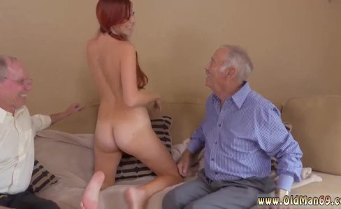 Old man fucks young guy and sexy old lady|1,498 views
