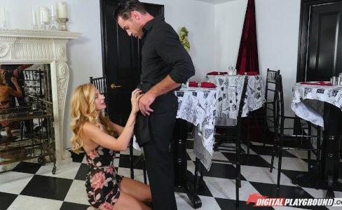 DP Star 3 - Tall Stunning Blonde Alexa Grace Deep Throat Blowjob|19,150 views