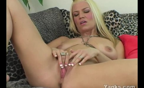 Horny Blonde Xana Masturbating|7,522 views