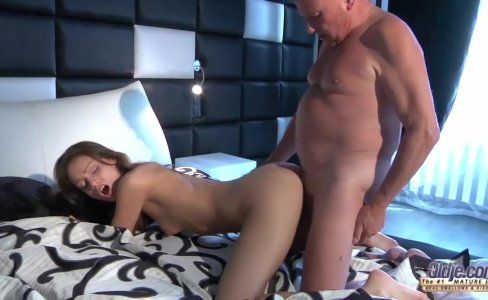 Young super-hot babe next door fucking old man in sex dream|3,805 views