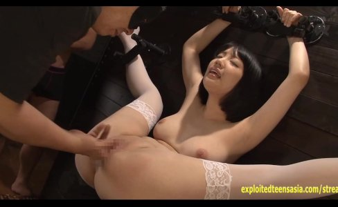Koharu Suzuki Strapped To The Wall Fingered Then Fucked By 10 Guys Jizz In|4,698 views