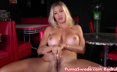 Euro Slut Puma Swede Fucks Big Dildo!|886 views