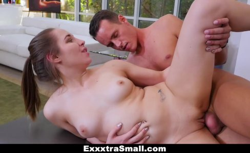 ExxxtraSmall - Petite Baby Stretched our and Fucked During Yoga|15,425 views