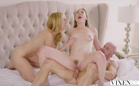 VIXEN My Passionate Threesome With A Hot Couple|295,273 views