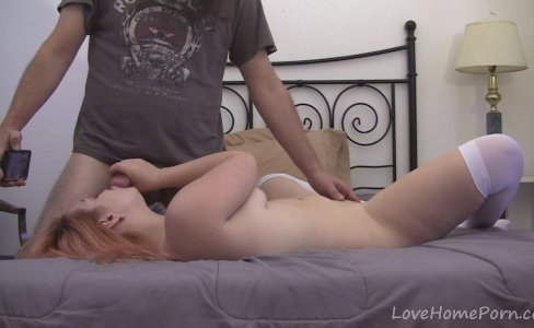 Finest redhead sucks the dick of her partner|204 views
