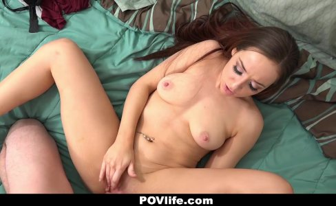 POVLIFE - Sexy Brunette Fucks Landlord For Rent|33,464 views