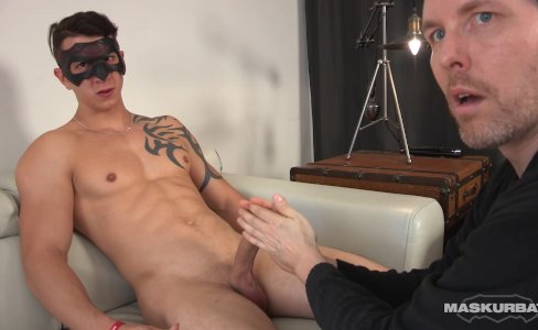 Maskurbate Marc's Perfect Cock gets Worshiped|11,083 views