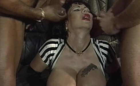 Explosive Massive Mature Tits Cum Showered Gangbang|41,074 views