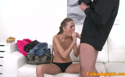 FakeAgent Hot Skinny babe loves fucking and giving blowjobs|34,231 views