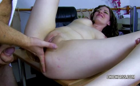 Sabrina Deep takes a stiff cock in her butt|582 views