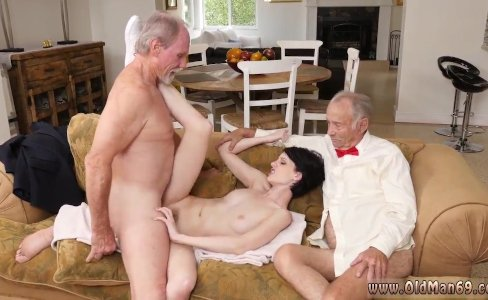 Jane fucks old man and brunette licking old|1,015 views