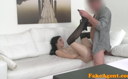 FakeAgent Fit skinny model seduced and fucked by agent|34,419 views