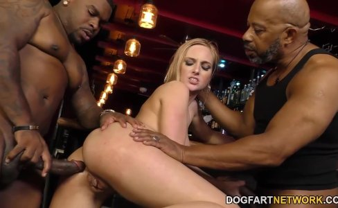 Interracial Anal Gangbang with BBC Slut Kate England|6,455 views