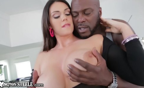 Curvy Alison Tyler takes Lex Steeles HUGE BBC|7,735 views