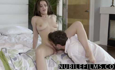 NubileFilms - Lana Rhoades Seductive Tease For Step Brother|244,534 views
