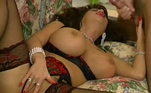 MILF Brunette With Massive Tits Fucked In Sexy Lingerie|34,938 views