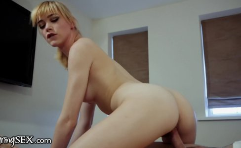 DaringSex German Teen Anny Aurora Riding Cock|792 views