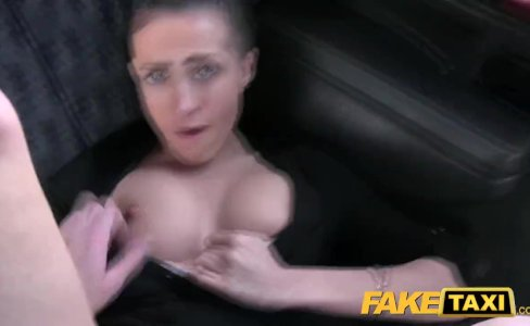 Fake Taxi Big natural bouncing tits brunette in Czech taxi|266,187 views