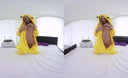 REALJAMVR - PLAYFUL PICKACHU KNOWS WHAT TO SHOW YOU|996 views