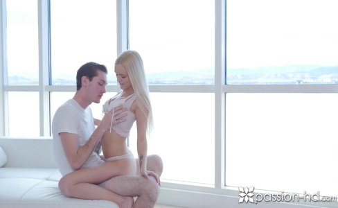 PASSION-HD Blonde Alex Grey fucked in a high rise with facial|105,926 views