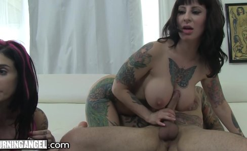 BurningAngel Big Titty MILF Webcam Threesome!|21,491 views