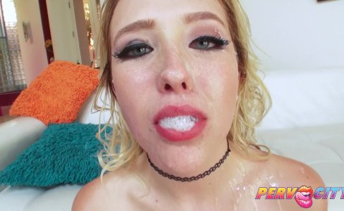 PervCity Samantha Rone gets her very first DP|1,305 views