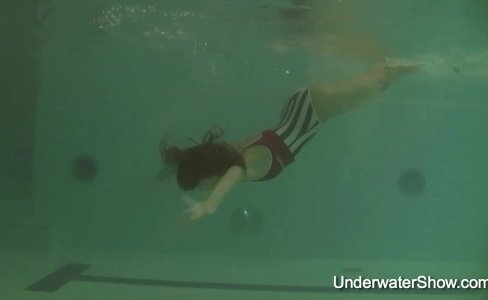 Erotic underwater show of Natalia|881 views