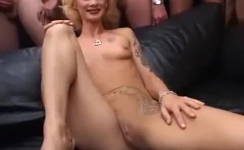 my moms first gangbang orgy|52,148 views