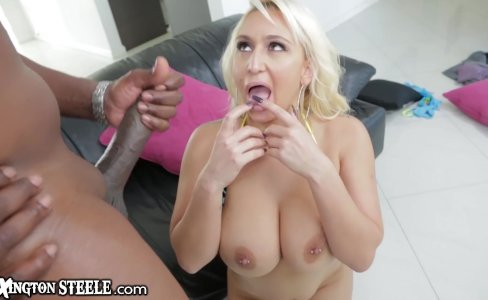 LexingtonSteele Nina Kayy Takes that Huge Black Cock|15,728 views