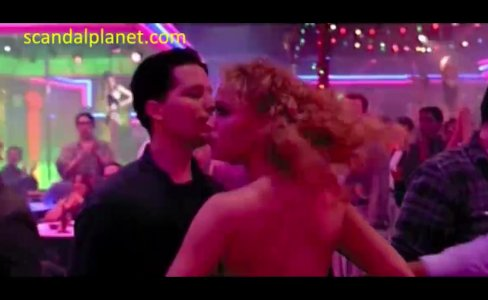 Elizabeth Berkley And Rena Riffel Striptease In Showgirls Movie|157 views