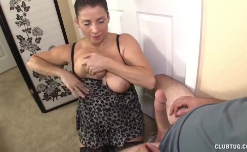 Busty milf tit-fucking and jerking|268 views