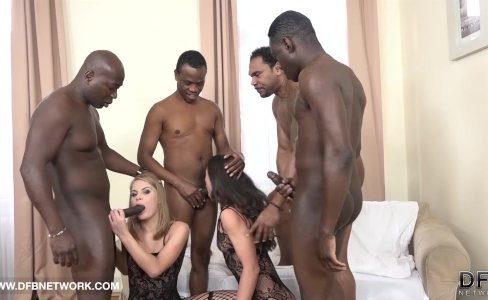 Double Anal Double Penetration Group fuck 4 black men fuck 2 white girls|2,245 views